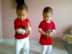 Gangnam Style Gifts - The Dancing Twins!