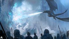 Fine Art: The Art Of Games Of Thrones Season 7 | Kotaku Australia