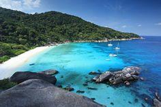 Similan Islands Phuket! #Asia #Indonesia #Phuket #Thailande #Islands #Beach #Sky #Clouds #Chill #Travel #Vacation #Trip #eOasia