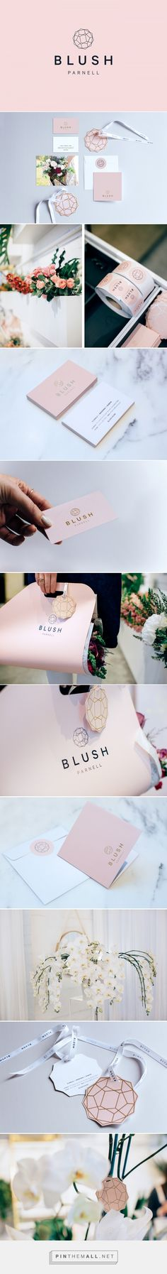 Blush Parnell Floral Styling Studio Branding by Hannah Souter | Fivestar Branding Agency – Design and Branding Agency & Curated Inspiration Gallery