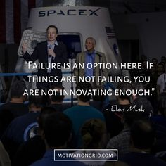 Elon Musk is one of the most brilliant engineers and entrepreneurs the world has seen. Here are 15 Elon Musk quotes, that you will never forget. Dream Quotes, Life Quotes, Diary Quotes, Best Inspirational Quotes, Motivational Quotes, Elon Musk Quotes, Option Quotes, Failure Quotes, Genius Quotes