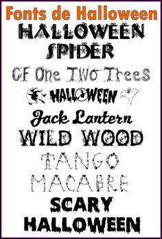 Free Halloween Fonts For Microsoft Word - #traffic-club