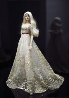 https://flic.kr/p/L2exWr   Vanessa - outfit by Rimdoll   www.etsy.com/listing/471469269/golden-dress-for-fashion-r...