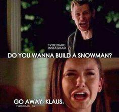 the Vampire Diaries - Frozen  #funny