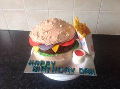 Another hamburger cake