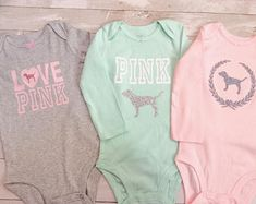 Toddler Baby Girls Love Pink Size 18 Months Fall Winter Clothes Set