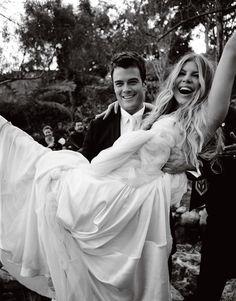 Fergie and Josh Duhamel wedding
