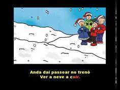 O Trenó - Versão Cantada | NATAL - YouTube Christmas Bells, Musical, Karaoke, Singing, Preschool, Songs, Education, Children, Crafts