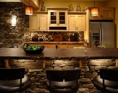 Elegant Artificial Stone Kitchen Designs