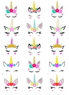 GBP - Unicorn Head Horn And Ears Cupcake Toppers Edible Wafer Paper Fairy . - GBP – Unicorn Head Horn And Ears Cupcake Toppers Edible Wafer Paper Fairy Cake Toppers - Diy Unicorn Birthday Party, Birthday Party Decorations, Cake Birthday, Birthday Treats, Birthday Candles, Unicorn Cake Topper, Unicorn Cupcakes Toppers, Edible Cupcake Toppers, Fondant Cupcakes