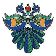 Wedding invitations modern printing 31 Ideas for 2019 Madhubani Paintings Peacock, Kalamkari Painting, Madhubani Art, Indian Art Paintings, Worli Painting, Peacock Painting, Fabric Painting, Fabric Art, Rare Animals