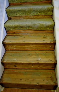 Ripping Out Carpet And Painting Stair Treads. Yes...but After All The Stuff  Has Been Carted Up The Stairs:)