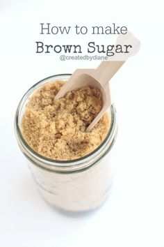 how to make brown sugar @createdbydiane
