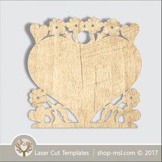 Product Heart laser cut template, download design. @ shop-msl.com Design Shop, Free Design, Frame Template, Templates, Cut Photo, Laser Cut Patterns, Vector File, Wooden Boxes, Laser Cutting