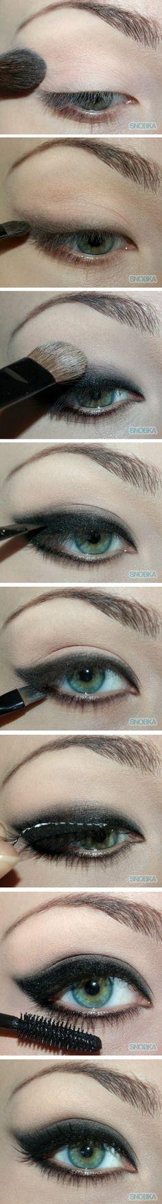 Brigitte Bardot style makeup