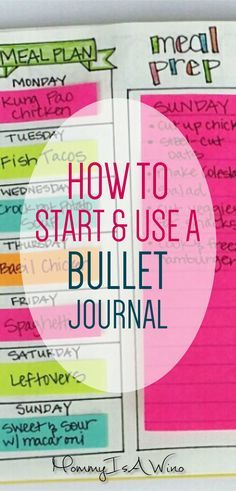 Start a Bullet Journal Today - How To Start and Use a Bullet Journal - Bullet Journal Ideas and Bullet Journal Spreads - How to Start a Bullet Journal, Journaling Ideas, Planner Ideas Bullet Journal Work, Bullet Journal For Beginners, Bullet Journal How To Start A, Bullet Journal Spread, Bullet Journals, Journal Layout, Journal Prompts, Journal Pages, Art Journals