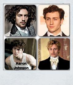 Aaron Johnson stars as Vronsky in the new Anna Karenina; very hunky!