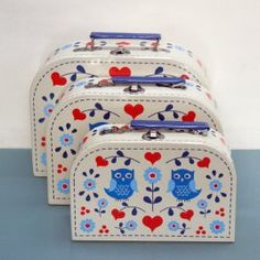 Childrens suitcases-set of 3