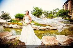 Another beautiful bride at JW Marriott San Antonio Hill Country Resort & Spa.