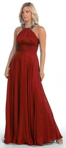 Prom Halter Dress New Elegant Long Gown #780 « Dress Adds Everyday