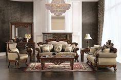 HD-296 3-Pc Living Room Set - Slick Furniture Store
