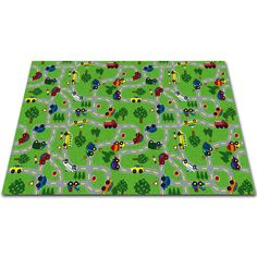 Found it at Wayfair - On The Go Green Area Rug