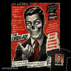 Join the Undead | Shirtoid #film #horror #moutchy #movies #undead #yannickbouchard
