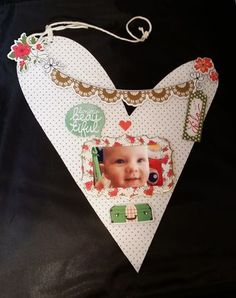 Bonjour Beautiful Photo Frame Wallhanging For Clear Scraps Creating Made Easy Blog April 2015