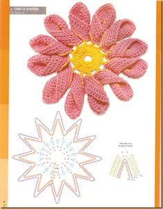 flores de croche+brincos de croche