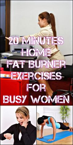 20 Minutes Home Fat Burner Exercises For Busy Women | HASS BODYBUILDING