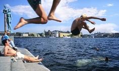 A swimming tour of Stockholm - Guardian
