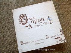 disney wedding invitation | disney :: fairy tale weddings, Wedding invitations