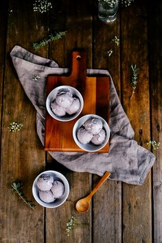 Earl Grey Lavender Ice Cream | The Farmer's Daughter