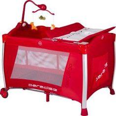 Baby2Go Oyun Parkı Lux Kırmızı