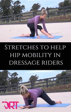 As dressage riders, we need to be able to use our hips...