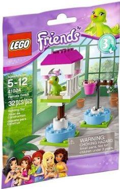 Amazon.com: Lego Friends Animals Parrot's Perch 41024 Series 3: Toys & Games