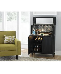 Liona Bar - Also Shop Home Bar - Furniture - Macy's
