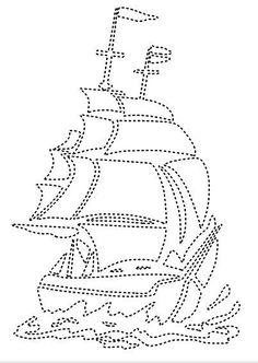 driemaster / zeilschip
