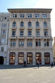 Trieste: Palazzo Modello Trieste, photo by Simonetta Di Zanutto