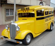 Not the short bus, but the Cool Bus