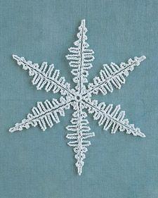 Crocheted Snowflakes - Martha Stewart Holiday & Seasonal Crafts