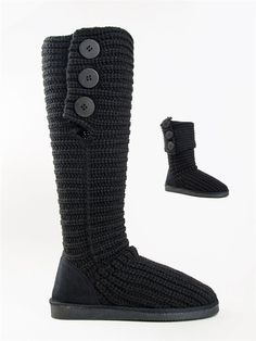 Sweater boots