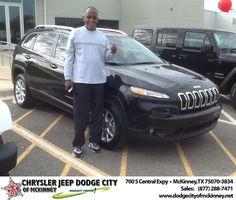 #HappyAnniversary to Anthony Webb on your 2014 #Jeep #Cherokee from Joe Ferguson  at Dodge City of McKinney!