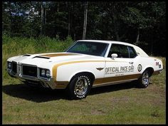 1972 Oldsmobile 442 Hurst Indy Pace Car 455 CI, 1 of 629 Produced presented as lot K224 at Kissimmee, FL 2013 - image1