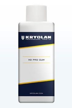 Kryolan 2006 HD Pro Gum 200ml (Special Effects Adhesive). Kryolan Product #2006. 200ml Bottle. Special Effects Adhesive. Professional Grade.
