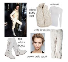 """""""Easy Princess Leia Costume!"""" by evol-love ❤ liked on Polyvore featuring Majestic, Levi's and J.Crew"""