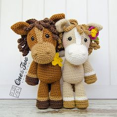 Ravelry: Haley the Horse Amigurumi pattern by Carolina Guzman