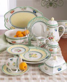 Villeroy & Boch Dinnerware, French Garden Dinner Plate - Dinnerware - Dining & Entertaining - Macy's
