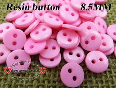 300pcs 8.5MM pink Resin kid button sweater for sewing buttons dress craft R-045-7 $2,98