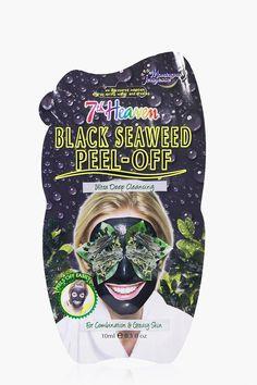 Black Seaweed Peel Off Face Mask | Boohoo #ChocolateFaceMaskRecipe #CharcoalMaskBenefits Face Scrub Homemade, Homemade Face Masks, Homemade Moisturizer, Greasy Skin, Oily Skin, Chocolate Face Mask, Charcoal Face Mask, Cleansing Mask, Peel Off Mask